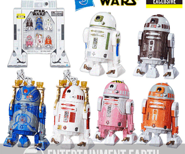 Astromech Action Figures are Packed in an R2-D2 Box Full of Awesome