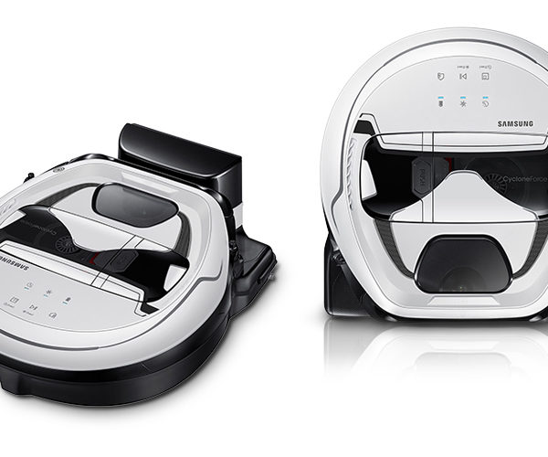 Samsung Stormtrooper Vacuum Cleans Your Home with Imperial Force