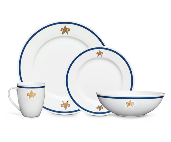 Star Trek Starfleet Dish Set: Food… The Final Frontier