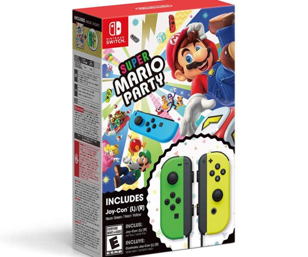 Super Mario Party Nintendo Switch Joy-Con Bundle Comes to the U.S.