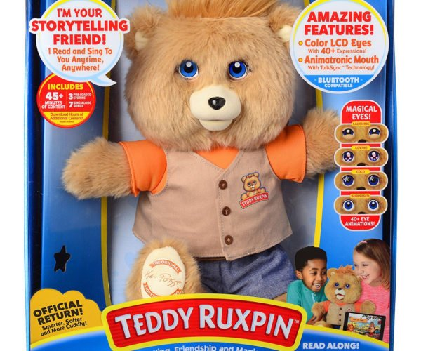 Teddy Ruxpin Returns to Terrify a New Generation