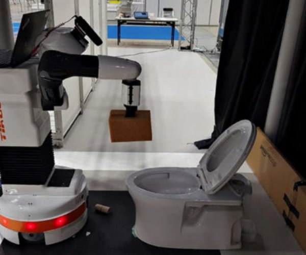 This Toilet Scrubbing Robot Is The Hero We Need