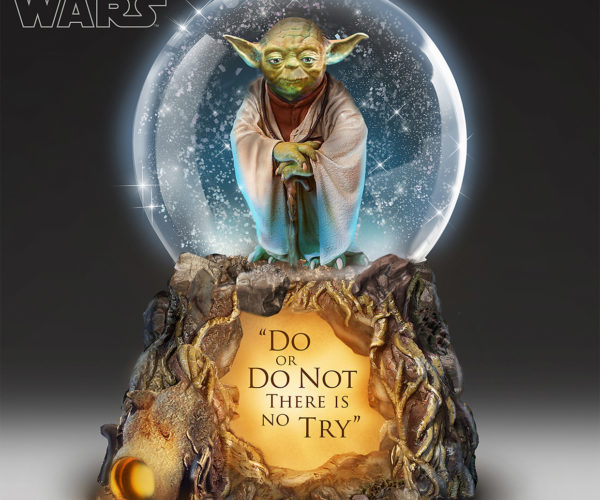 This Musical Yoda Glitter Globe, You Must Have