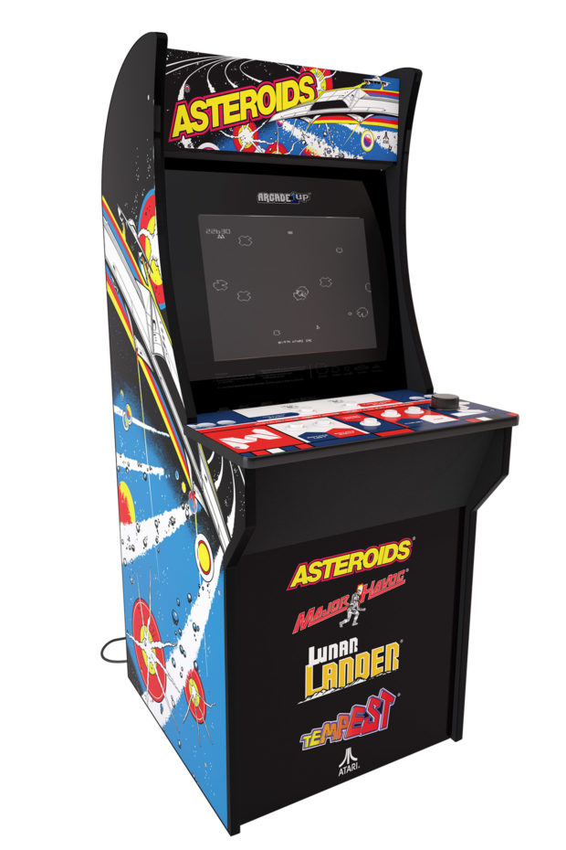 OMG! Asteroids Arcade1Up Cabinet is Only $199 at Walmart - Technabob