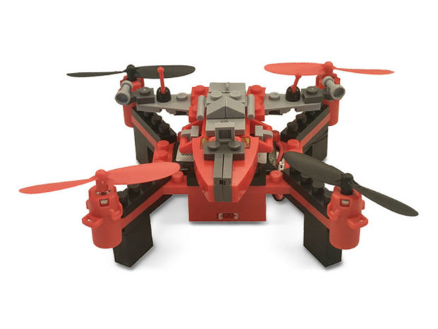 Snap Together Your Own Drone with Building Blocks