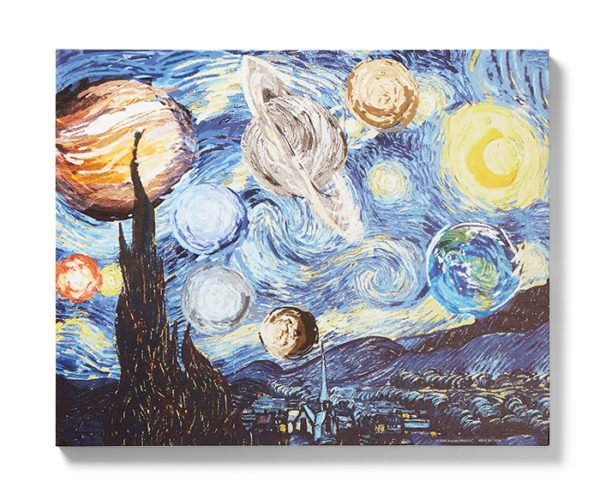 Starry Planet Wall Art Won't Cost You an Arm and an Ear