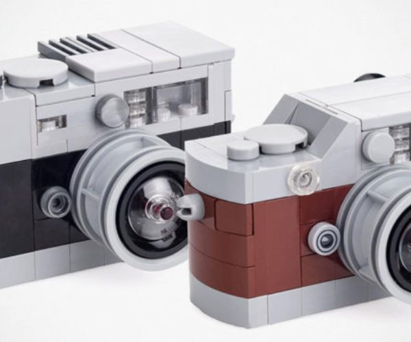 LEGO Leica Rangefinder Cameras: Pic a Brick