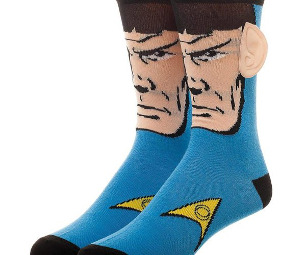 These Star Trek Spock Socks Have Vulcan Ears