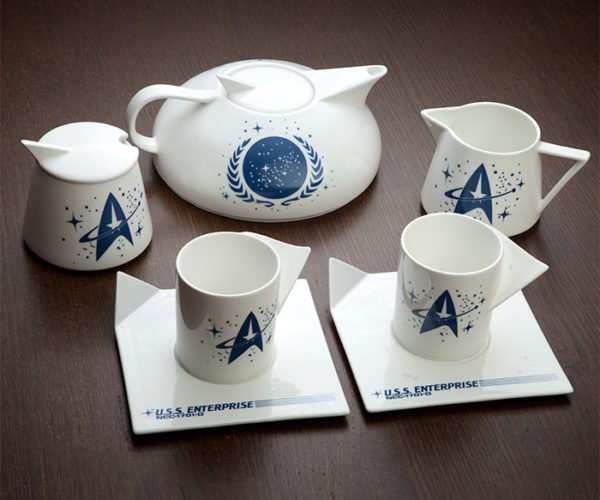 Star Trek Captain's Tea Set Is Perfect for Starfleet Tea Parties