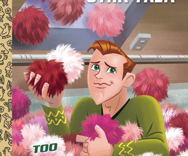 "Star Trek Gets Trouble with""Too Many Tribbles"" Little Golden Book"