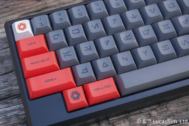These Star Wars Keycaps Let You Type in Aurebesh - Technabob