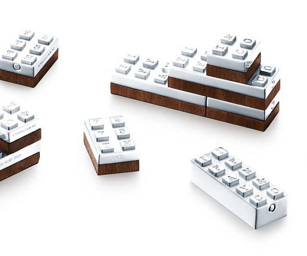Tiffany & Co. Building Blocks: Like LEGO for Rich Kids