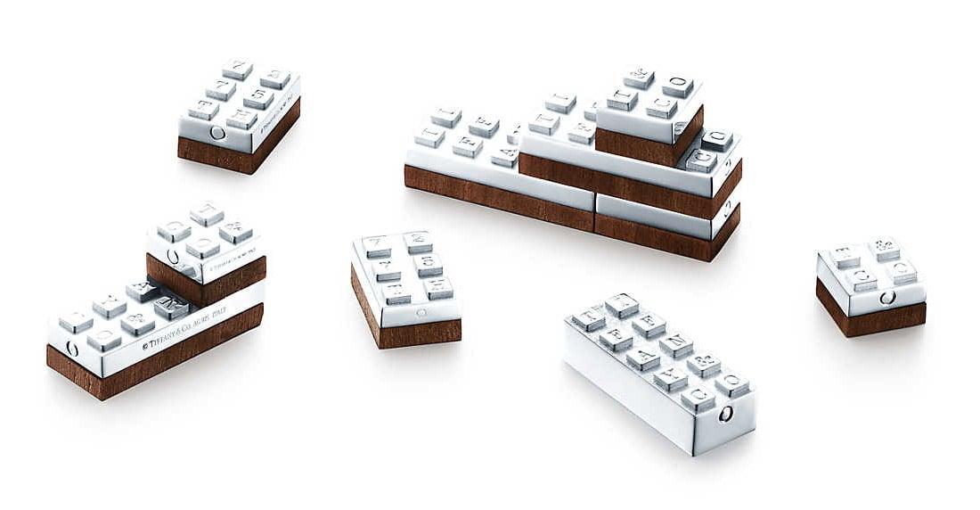 Tiffany Co Building Blocks Like Lego For Rich Kids Technabob