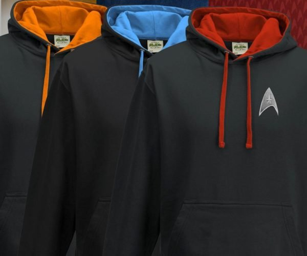 You Might Actually Wear These Star Trek Hoodies Every Day