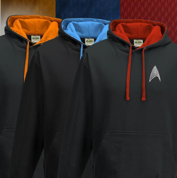 You Might Actually Wear These Star Trek Hoodies Every Day - Technabob