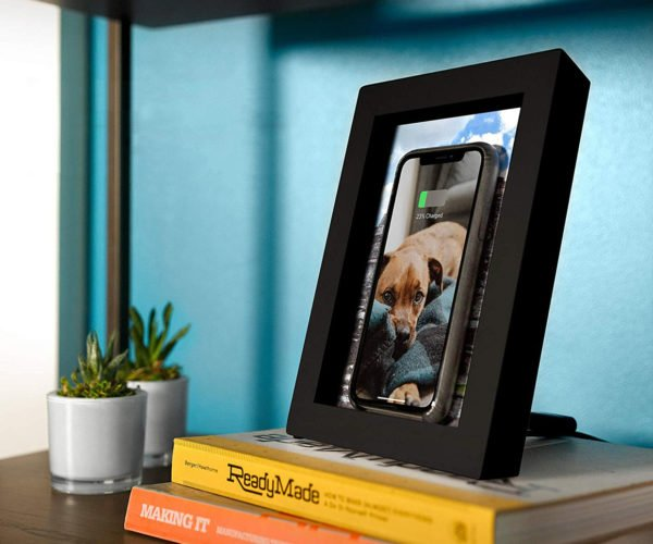 Twelve South Picture PowerPic Frame Hides Your Qi Charger in Plain Sight