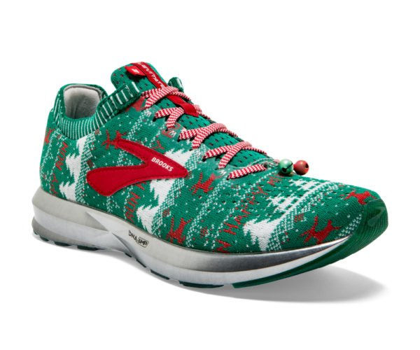 Complete Your Holiday Look with These Ugly Sweater Running Shoes