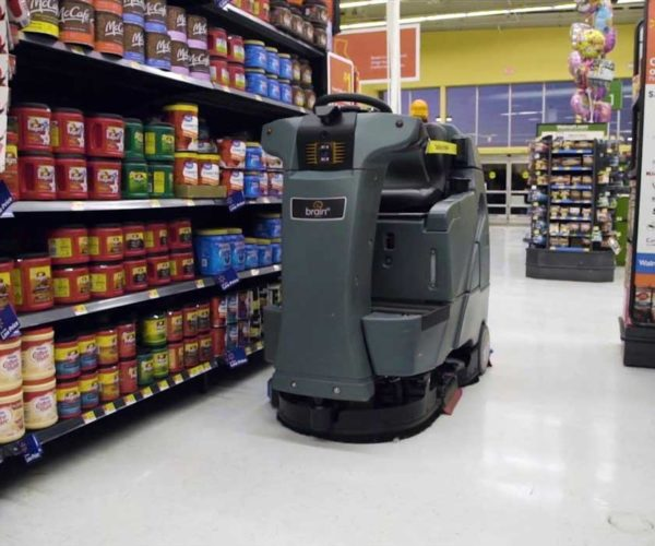 Walmart's Industrial Floor Cleaning Robot Doesn't Make $15 An Hour