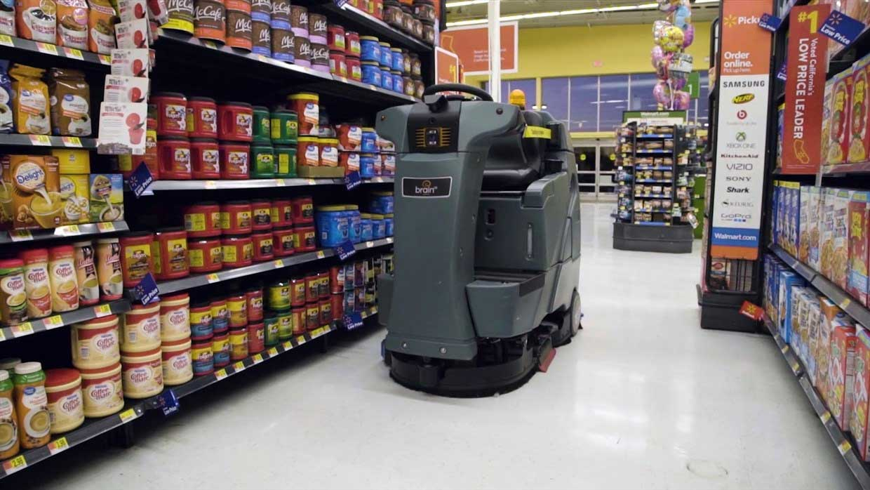 Walmart S Industrial Floor Cleaning Robot Doesn T Make 15