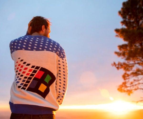 Retro Soft Wear: Windows 95 Sweater
