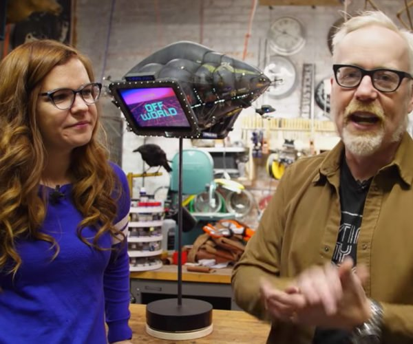 Adam Savage Shows off Awesome Blade Runner Blimp Replica