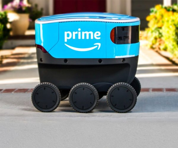Amazon's Adorable Scout Autonomous Delivery Robot Being Tested