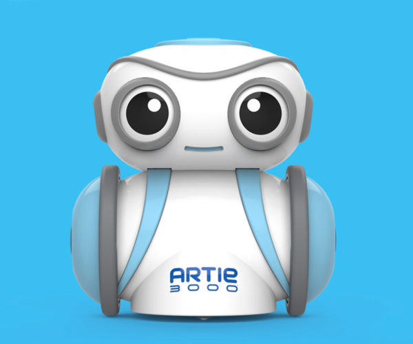 Artie 3000 Robot Teaches Kids to Code by Making Art
