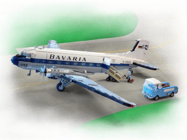 This Beautiful Custom LEGO Douglas DC-3 is a Classic - Technabob