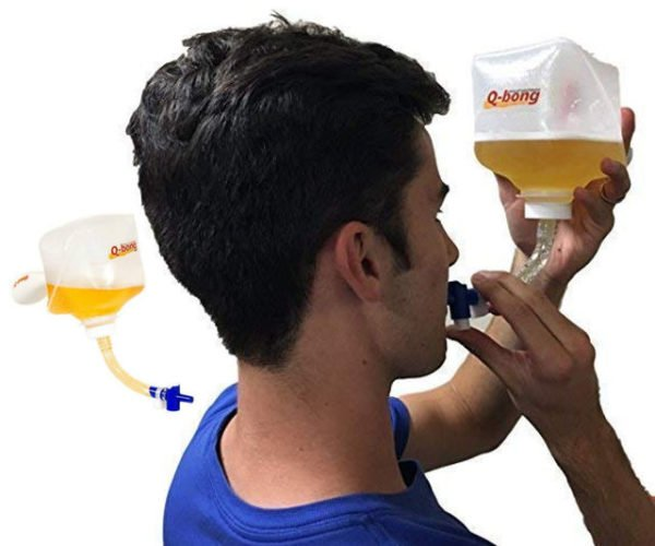 Q-Bong Pressurized Beer Bong Will Make You Hurl Faster