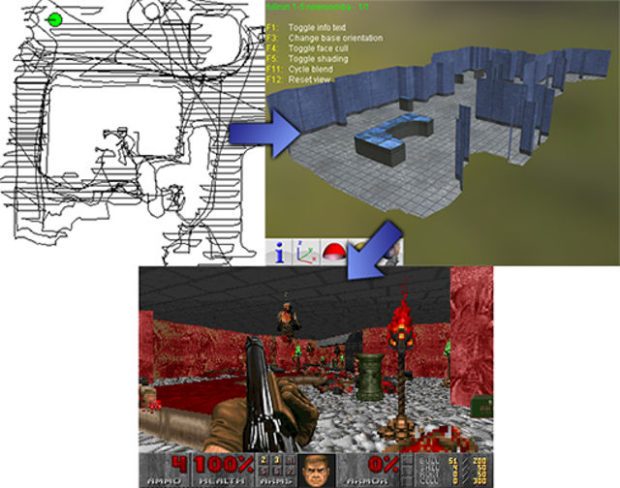 DOOMBA Creates Doom Maps Using Your Roomba - Technabob
