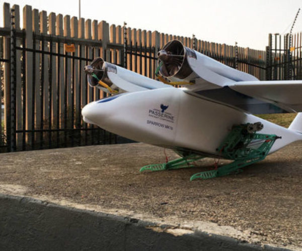 This Bird-like Drone Has Wings and Legs, and Jumps to Take off