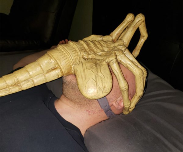Alien Facehugger CPAP Mask: In Bed, No One Can Hear You Scream