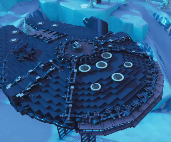 Fortnite Player Recreates The Millennium Falcon