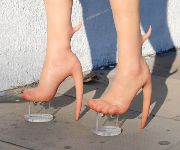 Human Skin High Heels Are the Creepiest Footwear Ever