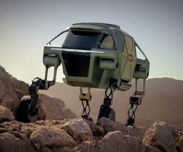 Hyundai Shows off Walking Car Concept for Extreme Terrain