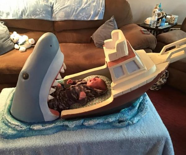 Jaws Baby Bed: We're Gonna Need a Bigger Cot