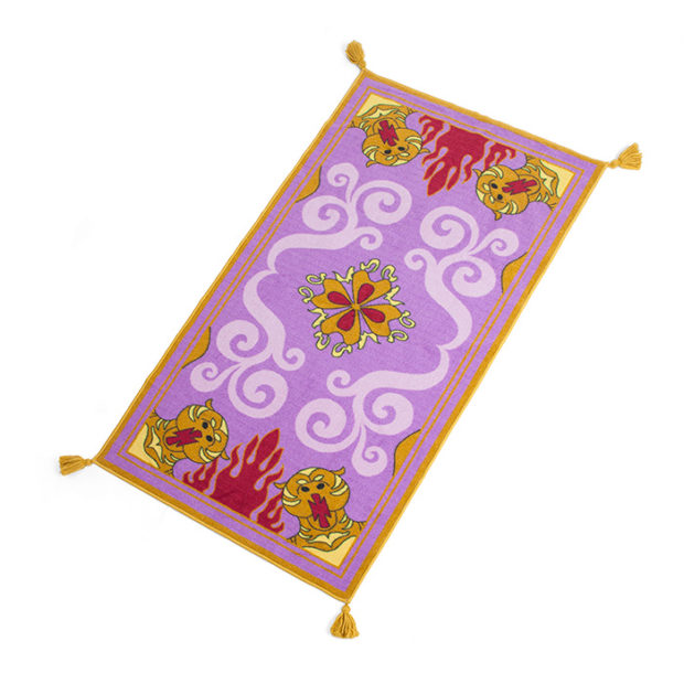 Aladdin Magic Carpet Rug Flies Into Your Wallet And Grabs