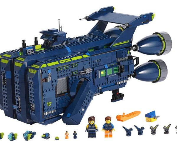 LEGO Movie 2 Rexcelsior Kit Looks Awesome