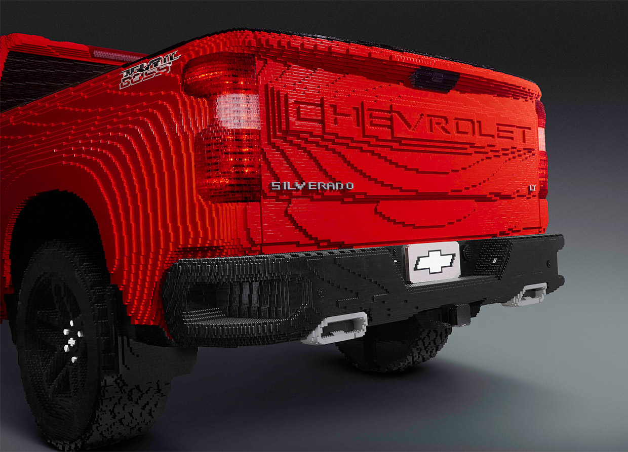Chevy Finds New Brick Roads with a Full-size LEGO ...