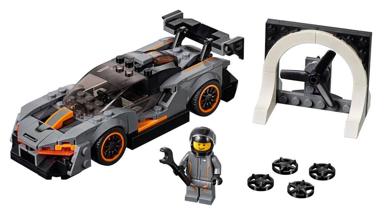 LEGO McLaren Senna Lets You Own a Million Dollar Super Car for 15 Bucks