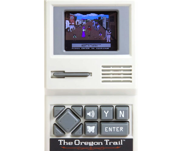 Handheld Oregon Trail Game on Sale at Target: Discount Dysentery