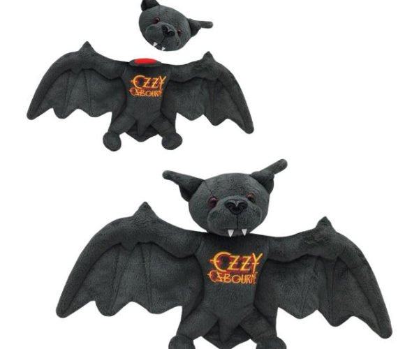 Ozzy Osbourne Plush Bat Has a Detachable Head