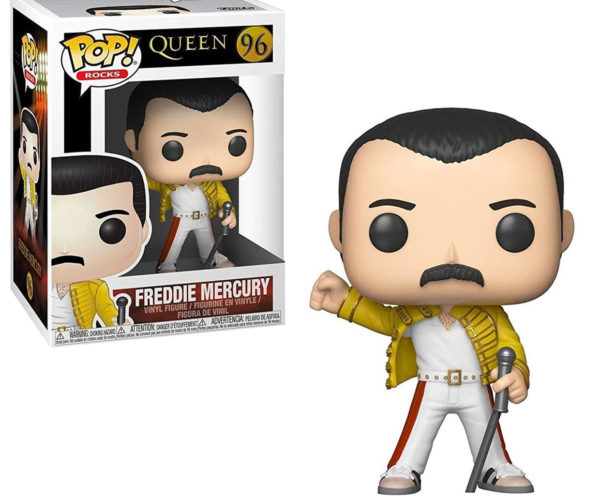 Freddie Mercury Wembley 1986 POP! Figure Will Rock You