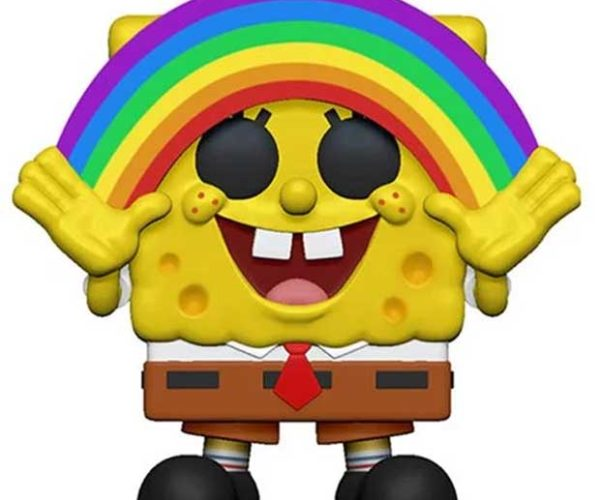 Spongebob Squarepants Rainbow POP! has Imagination