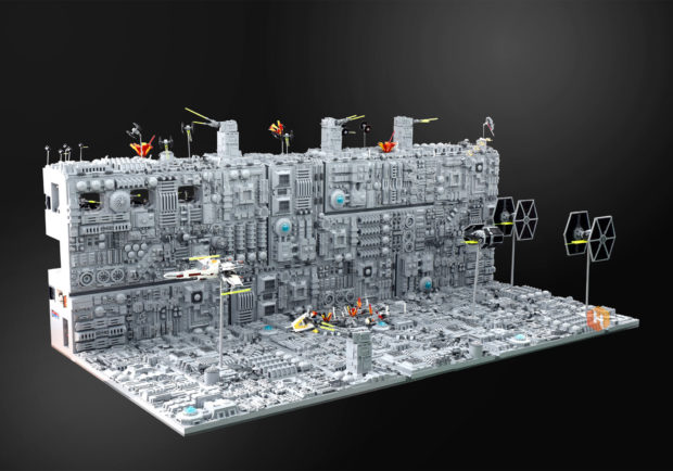 LEGO Death Star Trench Run: Stay on Target!