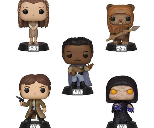 Star Wars Return of the Jedi POP! Vinyl Figures Know You Love Them
