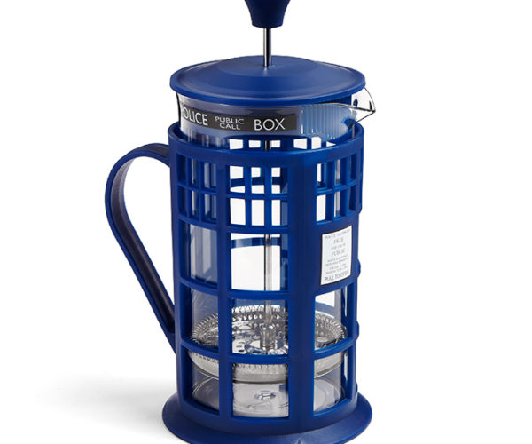 Doctor Who TARDIS French Press: Coffee for Your Companion