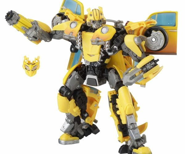 Transformers Bumblebee Masterpiece Toy Features His VW Beetle Form