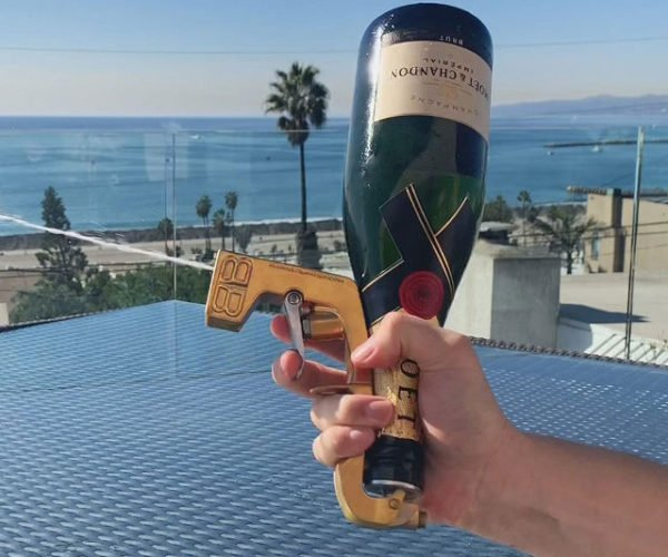 Bubbly Blaster Turns Champagne Bottles into Squirt Guns