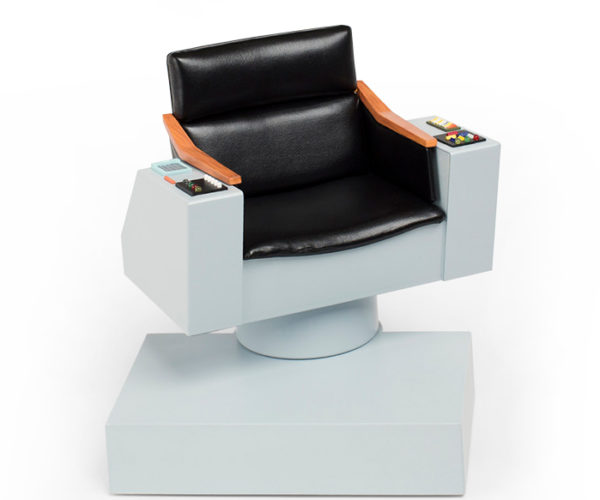 Tiny Star Trek TOS Captain's Chair Replica Is Ready for Command